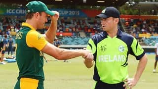 William Porterfield upbeat despite Ireland's loss against South Africa in ICC Cricket World Cup 2015