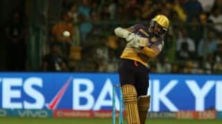 IPL 2017: Sunil Narine slams joint fastest IPL fifty against Royal Challengers Bangalore (RCB)