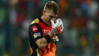 Indian T20 League 2018: David Warner wishes Hyderabad Team good luck ahead of 1st match