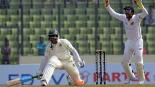 Bangladesh 190/6 at tea on Day 1 of 1st Test