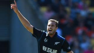 Tim Southee to miss New Zealand vs Pakistan 2015-16 T20I series due to foot injury