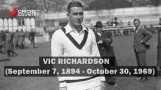 Richardson: 18 things about the Australian with a not-so-good relation with Bradman