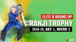 Ranji Trophy 2018-19, Elite B, Round 3, Day 1: Jiwanjot Singh hits century to lead Punjab's recovery