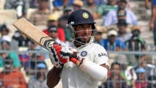 Virat Kohli, Cheteshwar Pujara steady India against South Africa on Day 1 of 1st Test