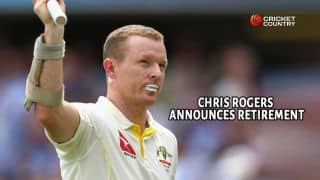 Chris Rogers announces retirement from First-Class cricket