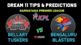 BT vs BB Dream11 Team Bellary Tuskers vs Bengaluru Blasters KPL 2019 Karnataka Premier League – Cricket Prediction Tips For Today's T20 Match at Bengaluru