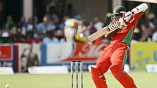 Hamilton Masakadza dismissed for 26 as Zimbabwe lose their third wicket