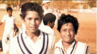 Sachin Tendulkar shares an old photo with his childhood friend Atul Ranade