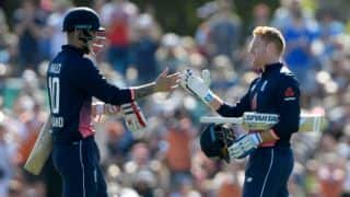 Bairstow's century helps England clinch series 3-2 against New Zealand