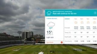 England vs New Zealand, Cricket World cup final Weather Report: Lord's, London Forecast for ENG vs NZ World Cup 2019 final – Heaviest rain of the week in London
