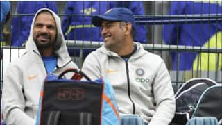 Shikhar dhawan picks ms dhoni over virat kohli as favourite captain 4029133