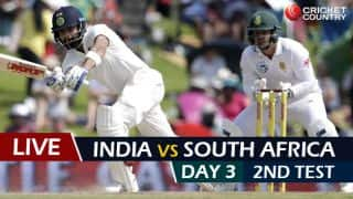 Live cricket scores, India vs South Africa, 2nd Test, Day 3 at Centurion: Bad light stops play