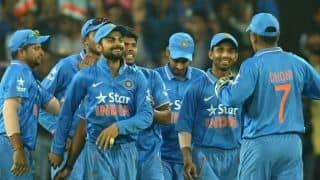 Look who's back with Team India!