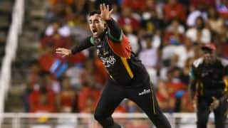 CPL 2017: Tabraiz Shamsi fined 50 per cent match fee for 'serious dissent'