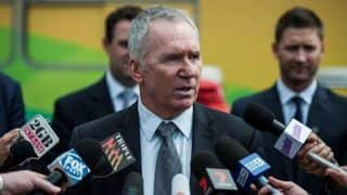 "Allan Border urges Australia for ""tough cricket but fair"""