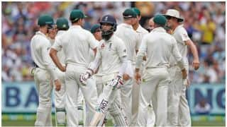 The Ashes 2017-18: Moeen Ali falls to Nathan Lyon for 6th time in 7 innings