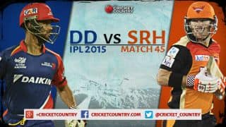 Delhi Daredevils vs Sunrisers Hyderabad, IPL 2015 Match 45 at Raipur Preview: Hopeful Sunrisers aim to stay afloat