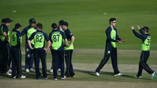 Desert T20 2017: Ireland beat Namibia by 5 wickets