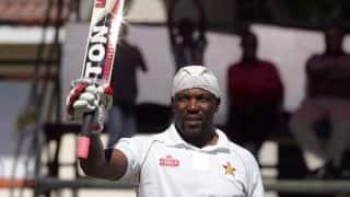 Zimbabwe 140/2 against Bangladesh at lunch on Day 3