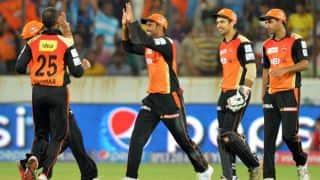 Sunrisers Hyderabad rout Mumbai Indians by 85 runs in IPL 9 Match 37 at Visakhapatnam