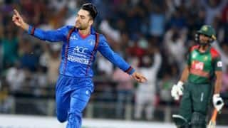 Rashid khan says I never dreamt I would be playing for Afghanistan
