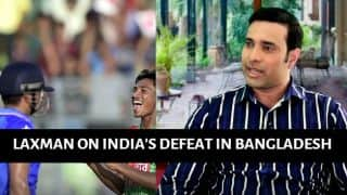 VIDEO: Laxman speaks on India's defeat in Bangladesh, praises Mustafizur