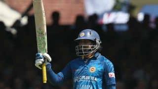 Tilakaratne Dilshan scores a 116-ball century