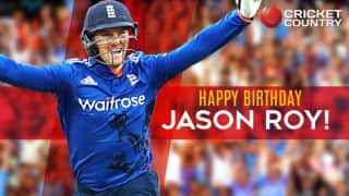 Happy birthday, Jason Roy! England's limited-overs opener turns 26