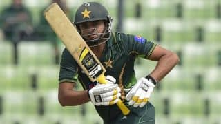 Pakistan off to a slow start against Zimbabwe in 1st ODI at Lahore