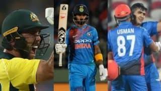 Glenn Maxwell, Hazratullah Zazai, KL Rahul move up in ICC T20I rankings for batsmen