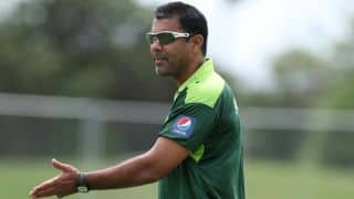 Pakistan coach Waqar Younis wants fielding standards to improve
