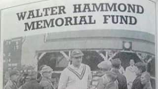 The day Wally Hammond passed away