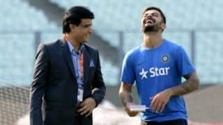 Ganguly supports Kohli ahead of SA tour