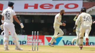 Moeen Ali becomes first spinner to dismiss Virat Kohli for a duck in Tests