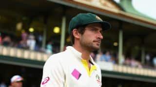 Joe Burns scores maiden 150 runs during New Zealand vs Australia 2015-16, 2nd Test