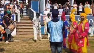 VIDEO: India batsmen Dinesh Karthik, Hardik Pandya get traditional bhangra dance welcome