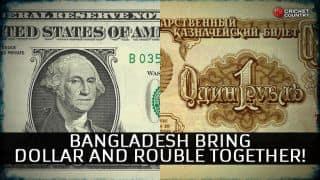 Bangladesh cricket unleash 'dollar' and 'rouble' on Zimbabwe