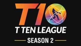 T-10 लीग का दूसरा सीजन 21 नवंबर से होगा शुरू, इतनी टीमें होंगी 'भारतीय'