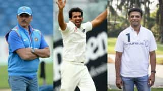 Shastri appointed Team India coach, Dravid overseas batting consultant, Zaheer bowling coach