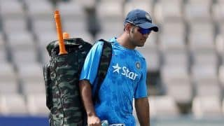 India vs West Indies: MS Dhoni sweats it our in nets ahead of 4th ODI
