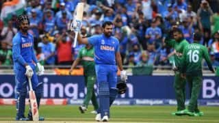 Cricket World Cup 2019: Record-equalling Rohit Sharma is batting on a different planet - KL Rahul