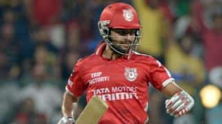 Live Cricket Score Chennai Super Kings (CSK) vs Kings XI Punjab (KXIP) CLT20 2014 2nd semi-final: CSK win by 65 runs