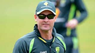 Michael Clarke had fractured shoulder against South Africa in 3rd Test