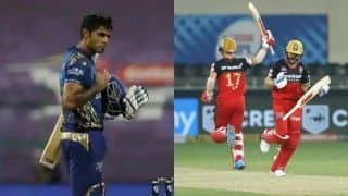From Super Over to Surya's Brilliance: Here's What Happened When Mumbai Indians and Royal Challengers Bangalore Locked Horns in IPL 2020