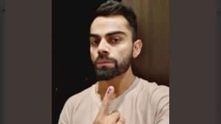 विराट कोहली ने मतदाताओं से मतदान की अपील की