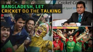 Dear Bangladesh, let your cricket do the talking