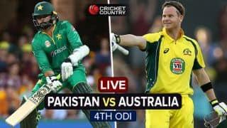 Pakistan vs Australia, 4th ODI at Sydney, Live Cricket Score: Australia seal series win