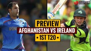 Afghanistan vs Ireland, 1st T20 preview: Afghanistan to turn new leaf on adopted turf