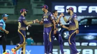 IPL 2021 SRH vs KKR: Kolkata Knight Riders Beat Sunrisers Hyderabad by 10 Runs in Their Opening Match | See Pics