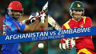 Afghanistan vs Zimbabwe 2015-16, 1st T20I at Sharjah, Preview: Hosts aim to draw first blood